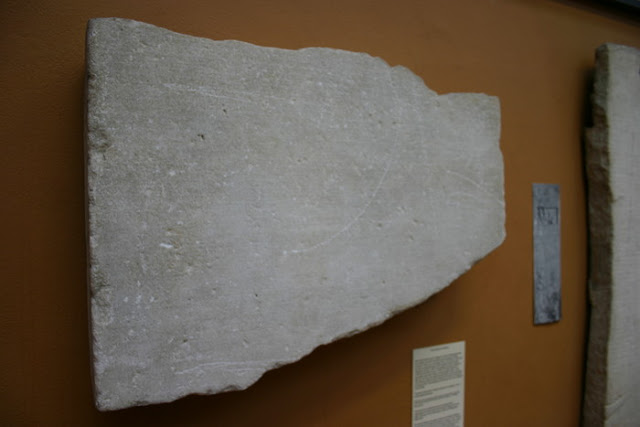 Αρχαία Επιγραφή με Χρονικά από τον Κατακλυσμό Δευκαλίωνα