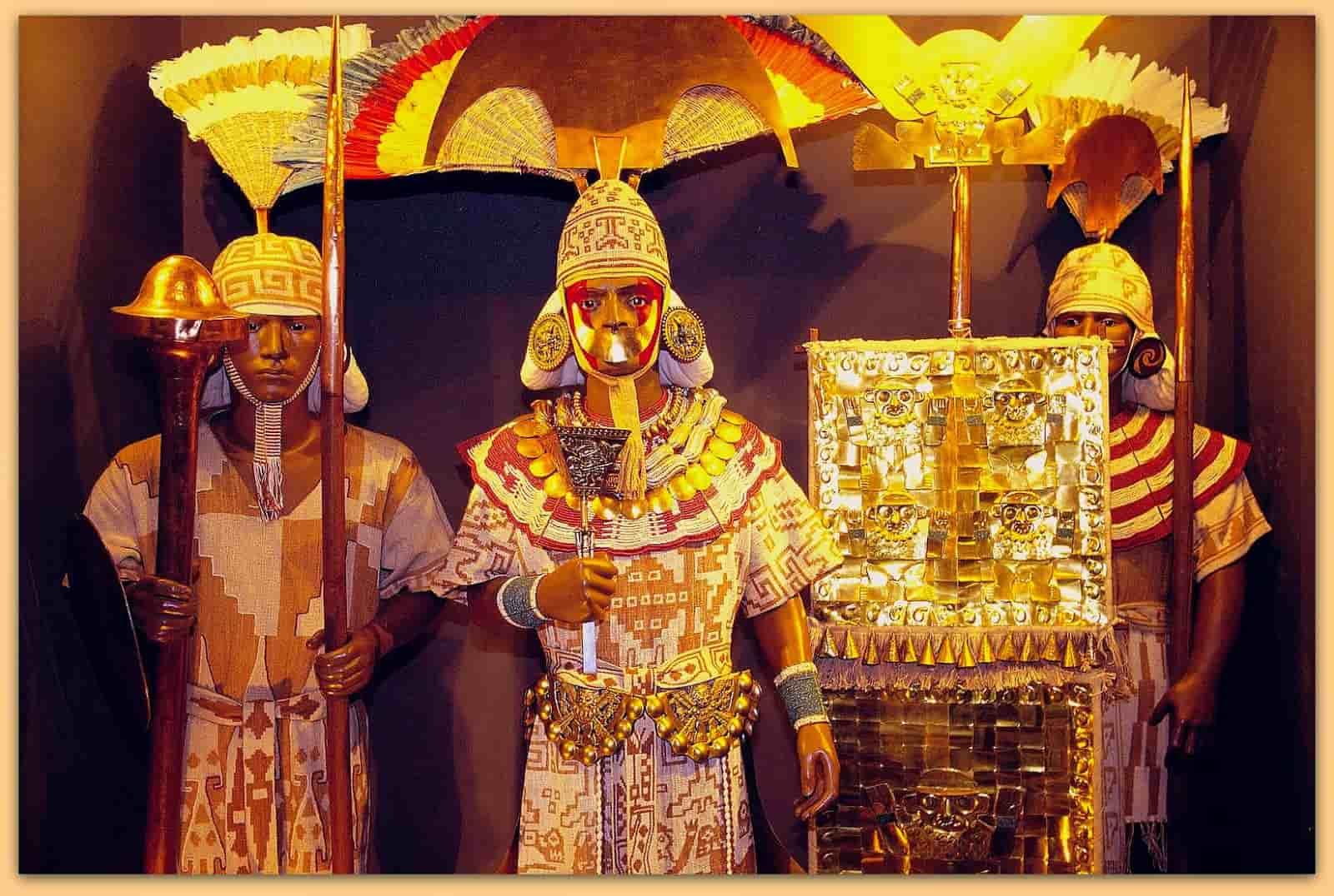 O βασιλικός τάφος του Sipan στο Περού, είναι... Ελληνικός;