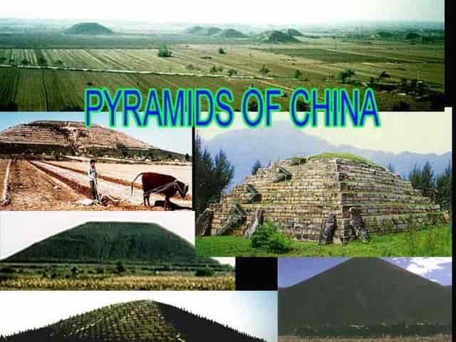 Πελασγικές Πυραμίδες στην Κίνα Κατασκευασμένες από τους Υιούς των Θεών