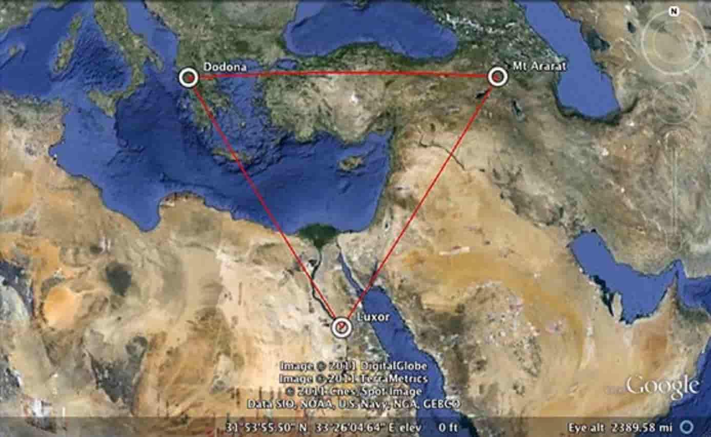 Έλληνες Έκτισαν τις Πυραμίδες