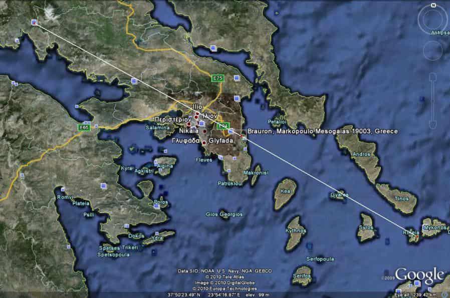 Τριγωνισμός στην Ελλάδα