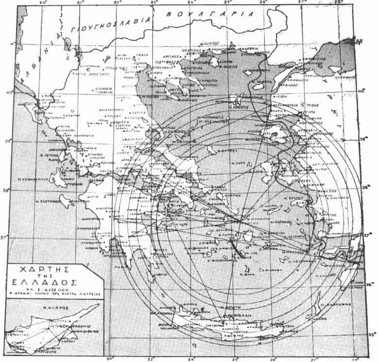 Ιερή Γεωδαισία και Γεωγραφία της Δήλου (εικόνες)