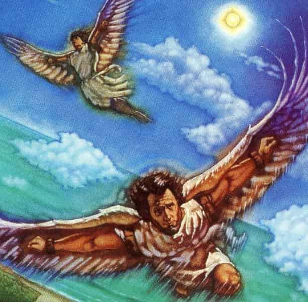 Κι όμως πέταξαν... ο Δαίδαλος και ο Ίκαρος. Δείτε πως.