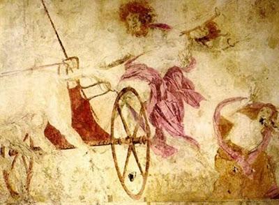Η Αρπαγή της Περσεφόνης, Bασιλικοί τάφοι Βεργίνας, περί το 350 π.Χ.