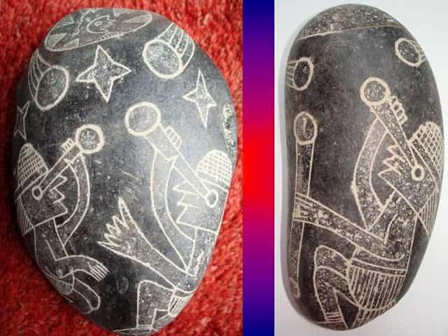 Αν οι Δεινόσαυροι Υπήρξαν πριν τον Άνθρωπο, τότε Ποιός... τους Ζωγράφισε στις Πέτρες του Περού;