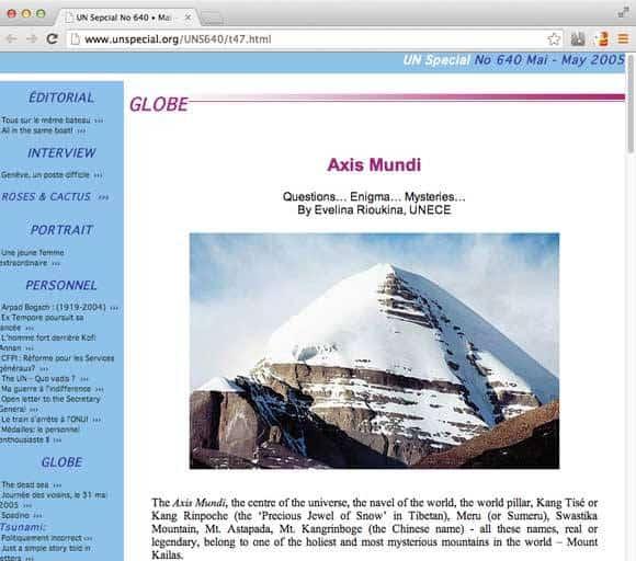 ΟΗΕ: Μυστήρια όντα στο Όρος Kailash του Ελληνικού(;) Θιβετ