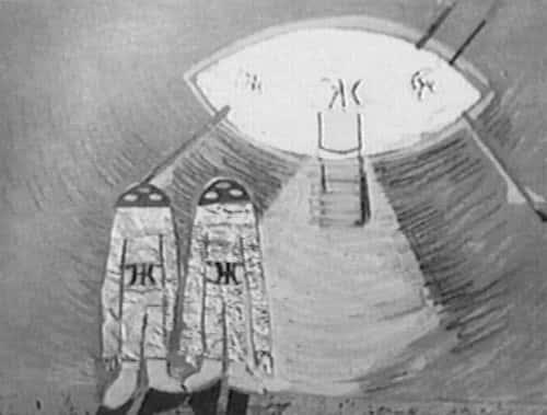 Οι Eξωγήινοι του Voronezh με το Σύμβολο του Διπλού Έψιλον (video)