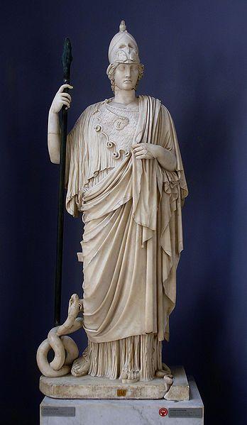 Άγνωστες Πτυχές Γέννησης Θεάς Αθηνάς και ο Όφις παρά Πόδας Αυτής