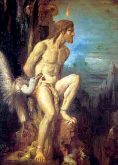 Προμηθέας - πίνακας του Γάλλου ζωγράφου Γκυστάβ Μορώ