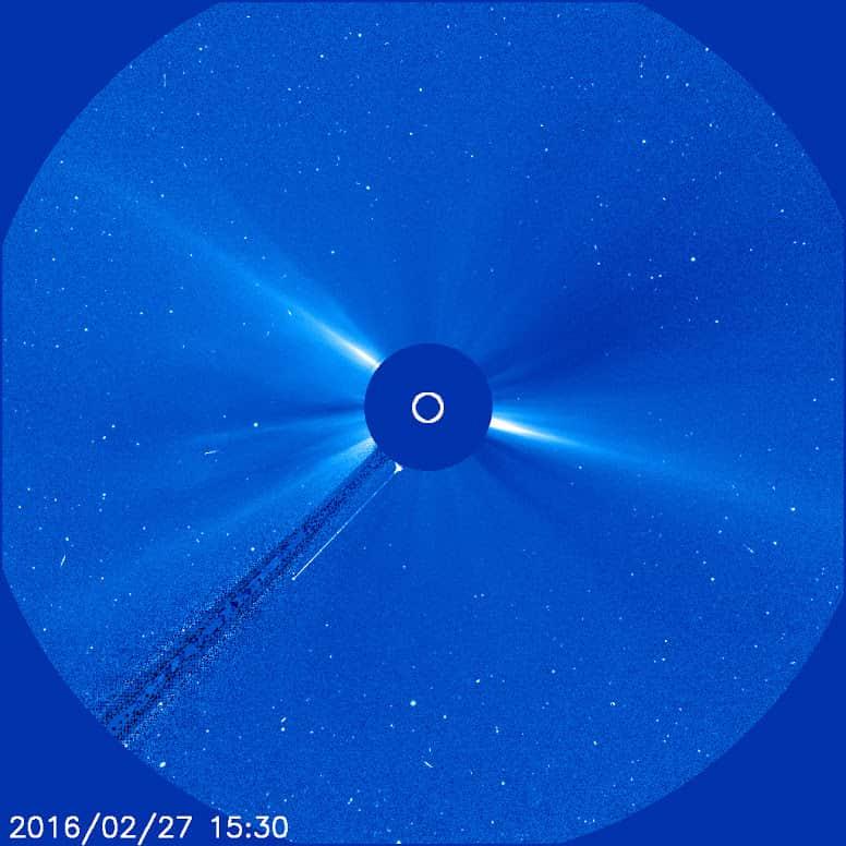 Ήλιος και αντικείμενο - NASA