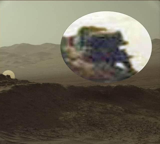οχημα στον αρη