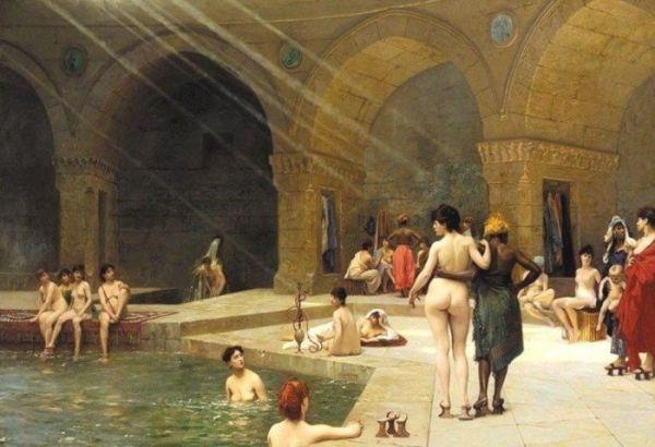 Βυζάντιο - εσωτερική πισίνα