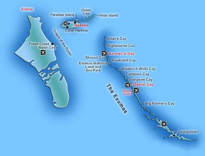Ο Θρύλος του Θαλάσσιου Τέρατος του Νησιού ΑΝΔΡΟΣ στις Μπαχάμες