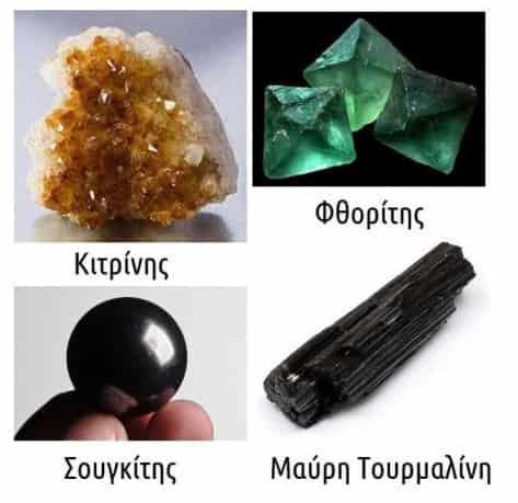 δύναμη των κρυστάλλων