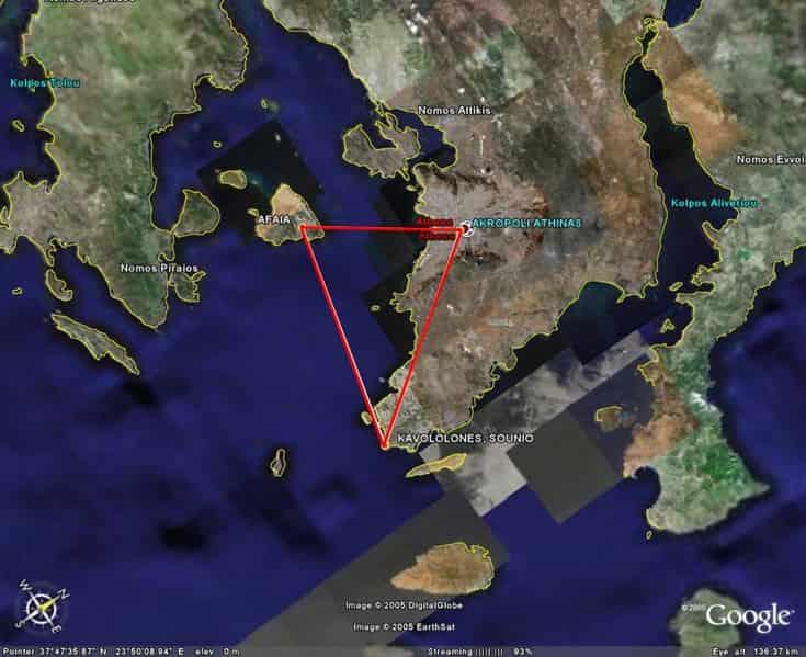 Τα Ιερά Τρίγωνα Ελληνικής Αρχαιότητας και η Καλά Κρυμμένη Σημασία τους