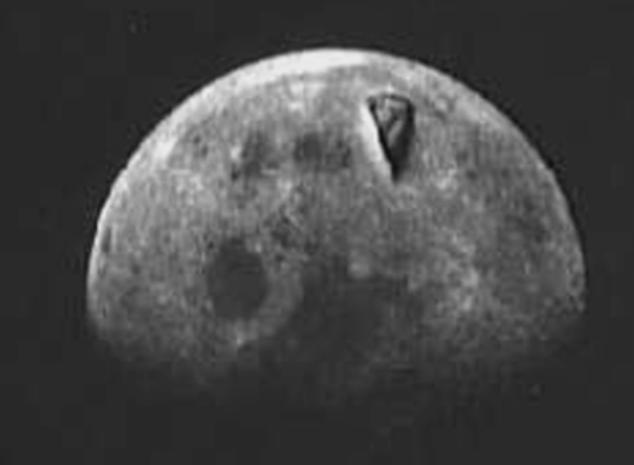 τριγωνικη δομη στην Σελήνη