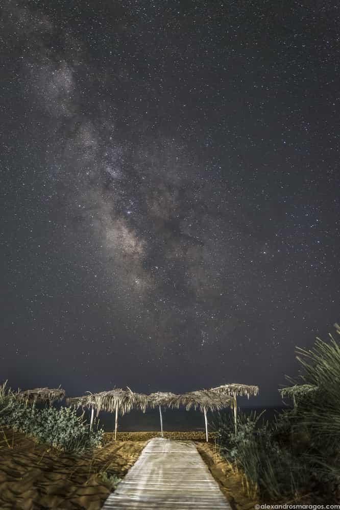 Ο Γαλαξίας στην Ελλάδα
