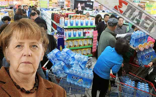 Γιατί η Μέρκελ ζητά Αποθήκευση Τροφίμων και Νερού; - Τι ξέρουν; Τι Περιμένουν;