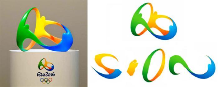 Το Σήμα Ολυμπιακών Ρίο με Σύμβολα Σιών-Γιαχβέ
