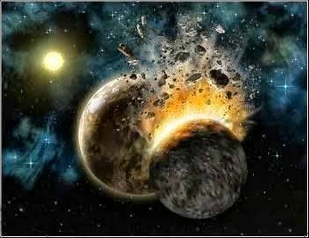 Σύγκρουση πλανητών