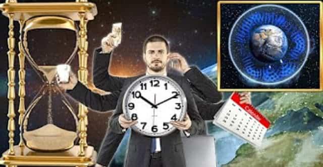 Γήινος χρόνος από 24 σε 16 ώρες, αντήχηση Schumann, Φράκταλ σύμπαν