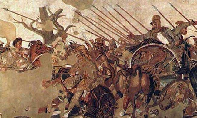 Ο Μέγας Αλέξανδρος Συντρίβει τους Πέρσες στην Μάχη της Ισσού