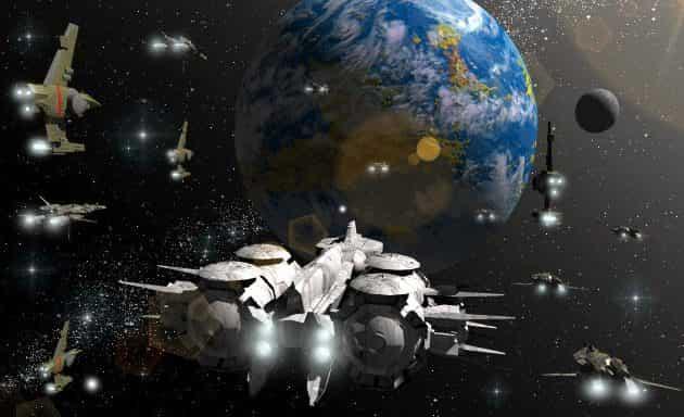 εξωγήινα σκάφη