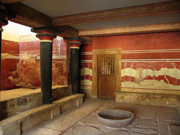 Από πότε είχαμε καλοριφέρ; Από το..7000 π.Χ. στην Κρήτη!