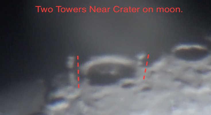 Οι «δίδυμοι πύργοι» της Σελήνης (video)