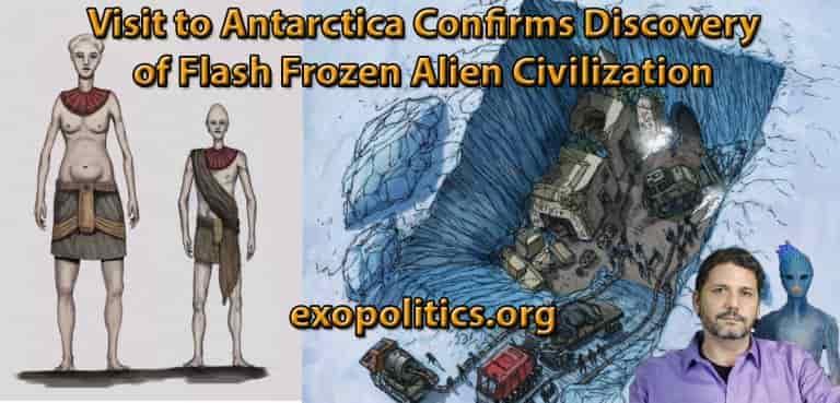 Εντοπίστηκε Εξωγήινος Πολιτισμός στην Ανταρκτική;;;