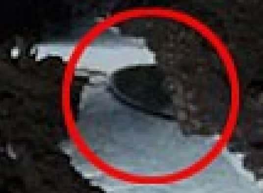 Βρέθηκε Κρυμμένος Ιπτάμενος Δίσκος στην Ανταρκτική; (φωτο-συντεταγμένες)