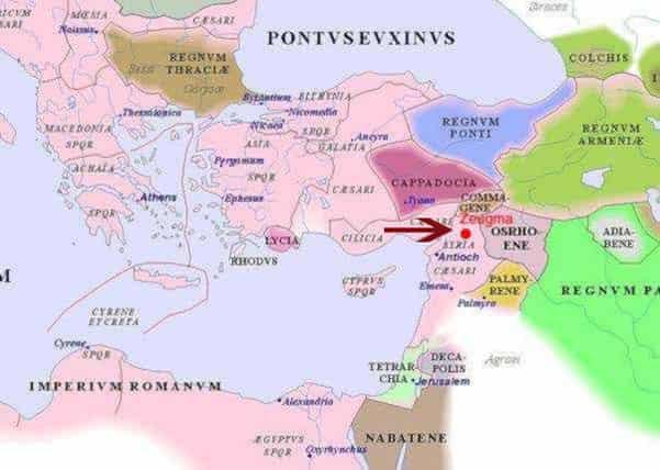 Παντού ΕΛΛΑΔΑ!!! Η Κρήτη στα ψηφιδωτά της αρχαίας πόλης Ζεύγμα στην Τουρκία