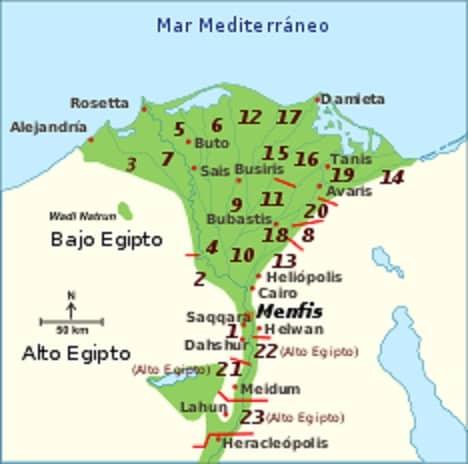 Πόλη Άβαρις - Αίγυπτος