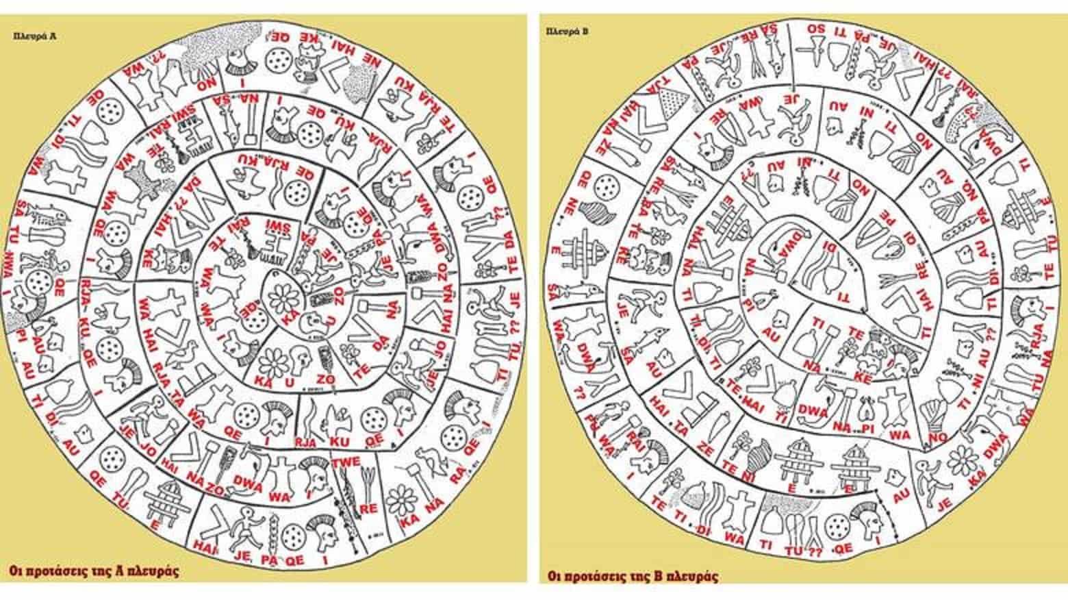 Πλήρης Αποκρυπτογράφηση του Δίσκου της Φαιστού