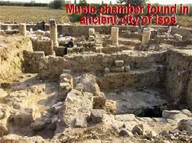 Βρέθηκε Δωμάτιο Μουσικοθεραπείας στην Αρχαία Ισσό