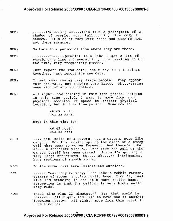 ΕΓΓΡΑΦΟ της CIA για ΟΝΤΑ που ΚΑΤΟΙΚΟΥΝ στον ΆΡΗ