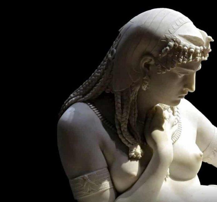 Άγαλμα της Κλεοπάτρας, Alfonso Balzico 1869