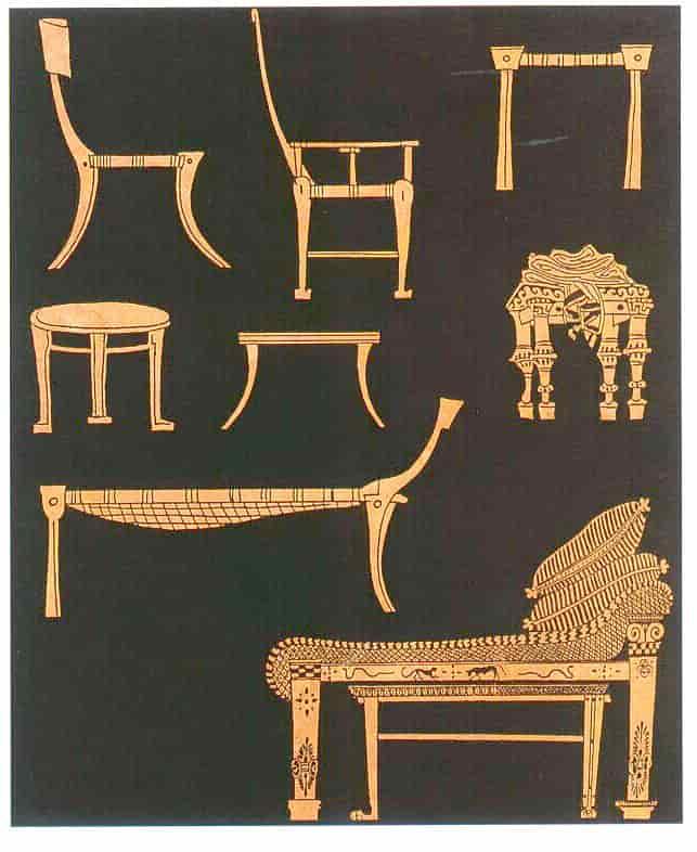 Έτσι ήταν τα έπιπλα των αρχαίων Ελλήνων