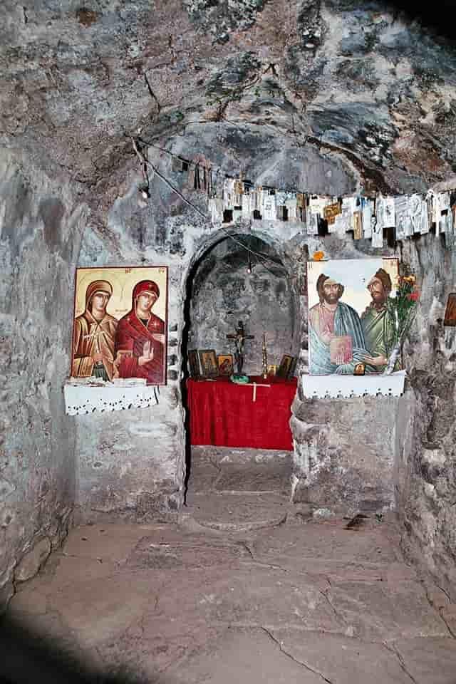 Η εκκλησία της Αγίας Θεοδώρας