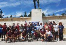 19 Αμερικανοί πεζοναύτες διενύσαν 378 χλμ σε οκτώ ημέρες απο την Σπάρτη στις Θερμοπύλες για να τιμήσουν τον Λεωνίδα !!