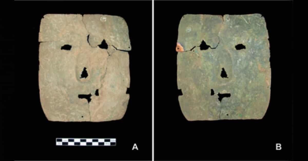 Χάλκινη Νεκρική Μάσκα 3.000 ετών Αλλάζει Όλη την Ιστορία της Λ. Αμερικής! (εικόνα)