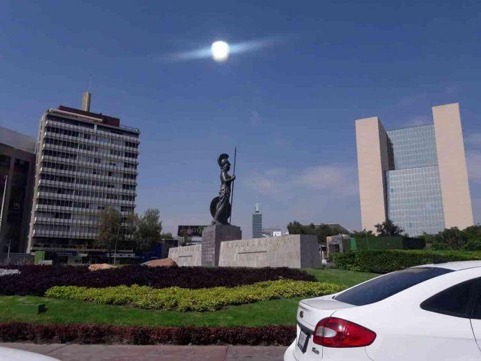 Άγαλμα Θεάς Αθηνάς στην Γκουανταλαχάρα Μεξικό