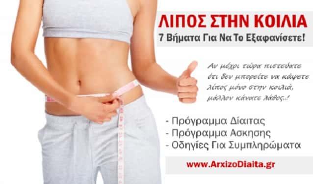 Πλήρης Οδηγός για να Κάψετε το Σπλαχνικό Λίπος! Δίαιτα για Κοιλιά