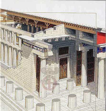 Ο Παρθενώνας και οι Χρυσελεφάντινες Πόρτες του