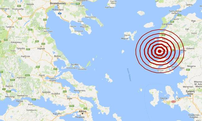 Σεισμός Μυτιλήνη