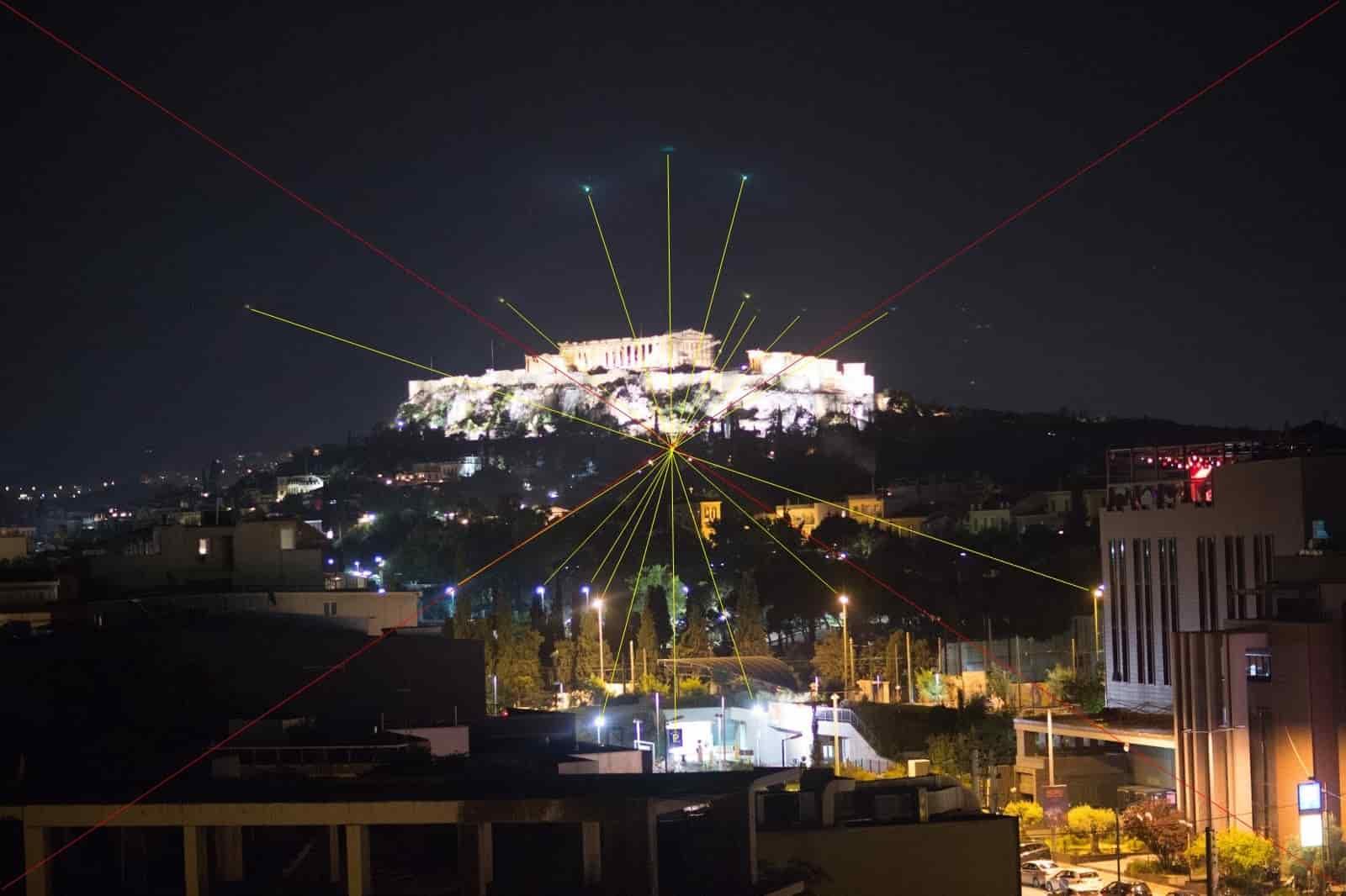 UFO Επάνω Από τον Παρθενώνα στο Θερινό Ηλιοστάσιο! (εικόνες)