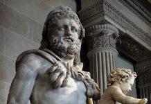 Ο Ηρακλής και ο γιός του Τήλεφος