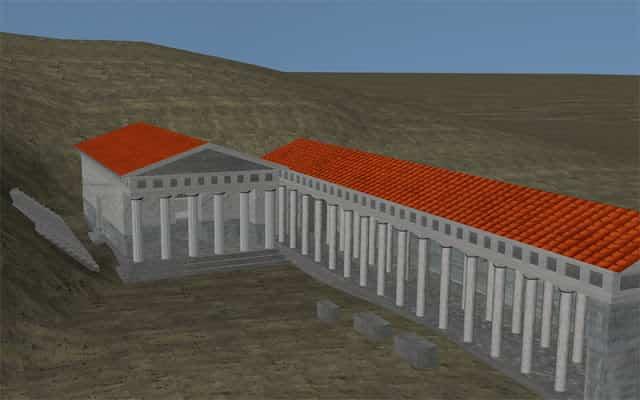 Η Ελληνική Προκατακλυσμιαία Πόλη της Λυκόσουρας και η Ύβρις του Λυκάωνα