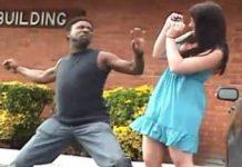 ΑΠΙΣΤΕΥΤΟ! Δείτε τι συνέβη όταν πήγε να σηκώσει χέρι στην κοπέλα του! (video)