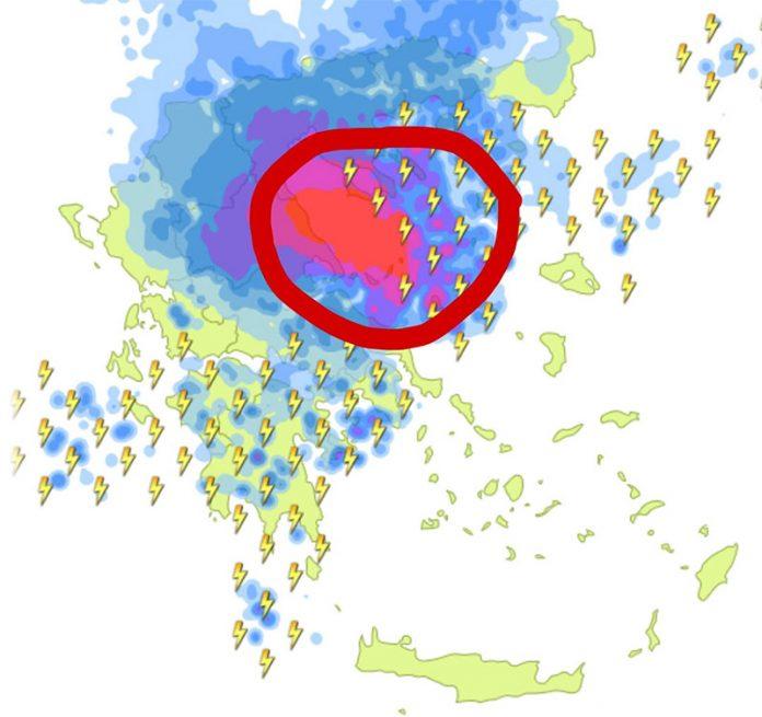 Κωδικός «Μέδουσα»: Ποιες περιοχές θα χτυπήσει η κακοκαιρία με επικίνδυνα καιρικά φαινόμενα